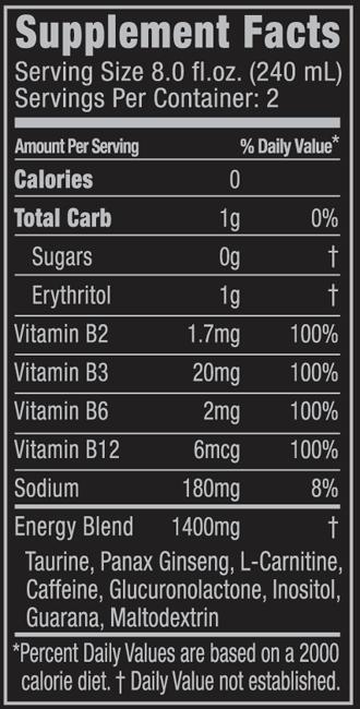 Alle pfandpflichtigen Getr  228 nke werden innerhalb Deutschlands mit DPG    Original Monster Nutrition Facts