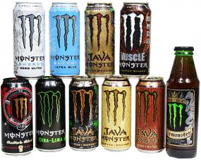 Monster Energy Probierpaket USA 10 Sorten
